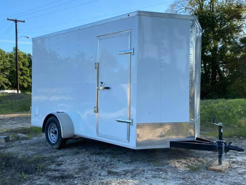2021 Salvation Trailers 6X12 Enclosed Cargo Trailer