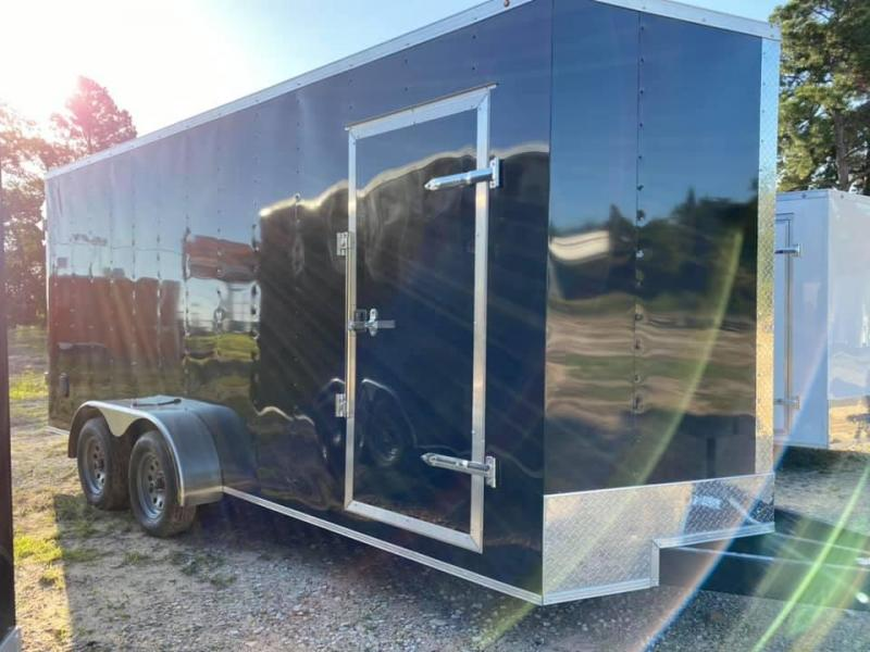 2021 Salvation Trailers 7X18 Box Enclosed Cargo Trailer