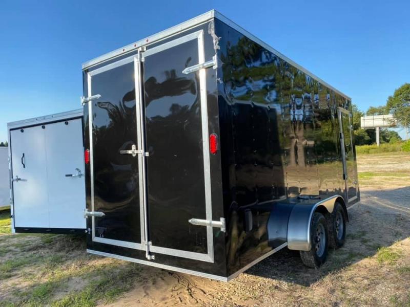 7X18 Box Enclosed Cargo Trailer