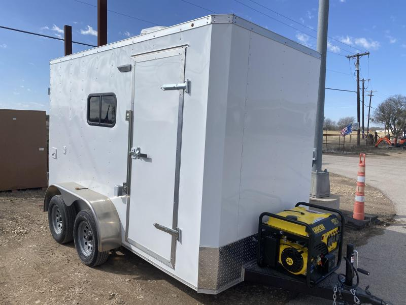 6X12TA Texas Dog Grooming Trailer