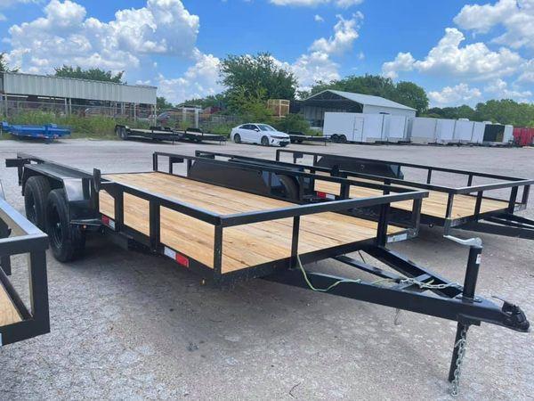2022 Other 78x16 utility trailer basic model