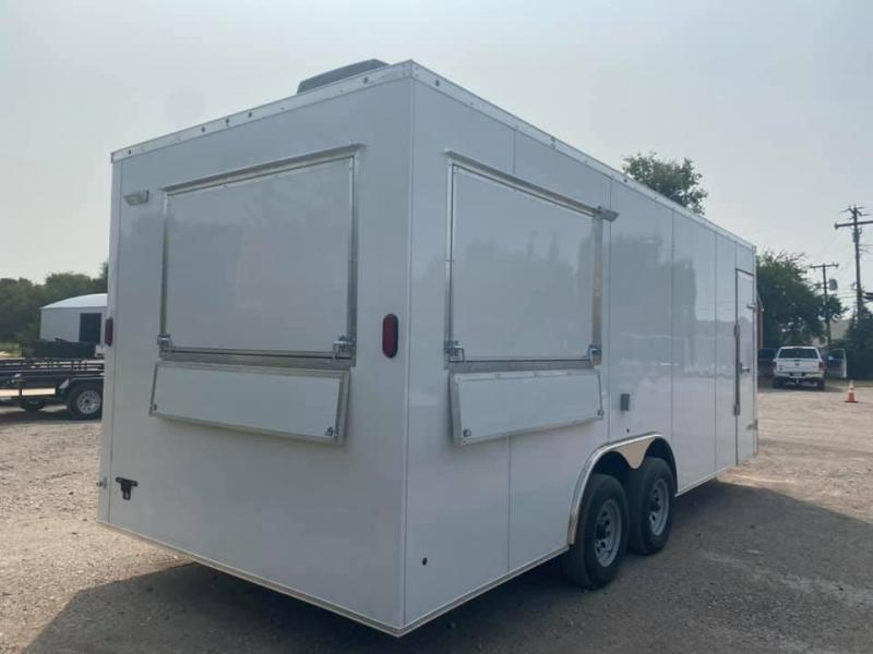 2021 SALVATION 8.5X20 CONCESSION Vending / Concession Trailer