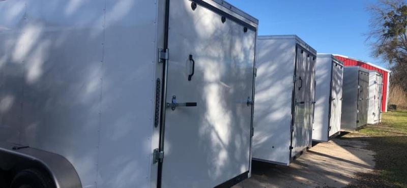 2021 SALVATION 6X12 ENCLOSED TRAILER Enclosed Cargo Trailer