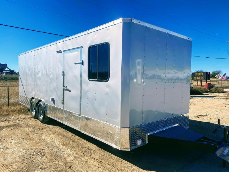 8.5X24TA Office Job Site Trailer