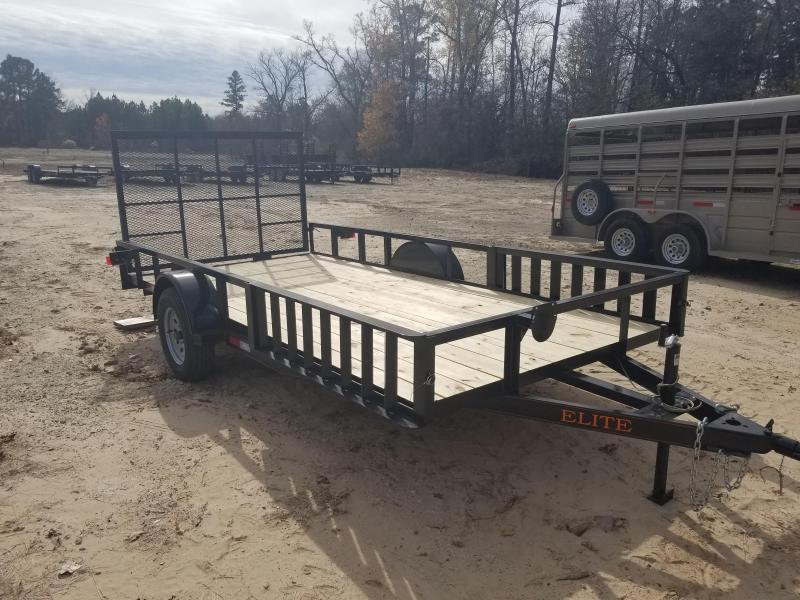 2019 Salvation Trailers 78X14 ATV Trailer