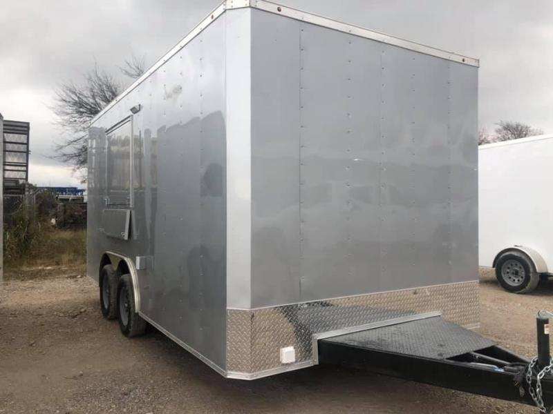 8.5X16 TA Vending / Concession Food Trailer