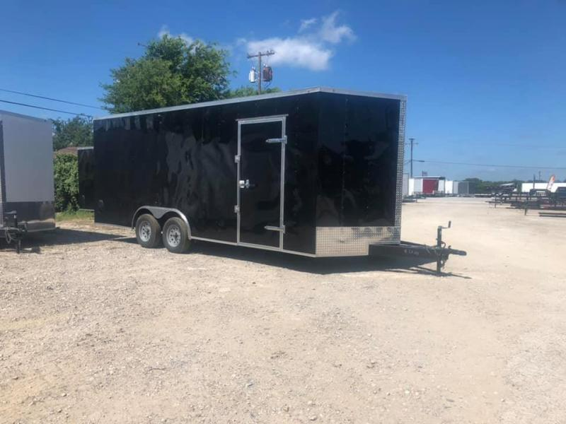 SALVATION 8.5x20 Enclosed cargo Enclosed Cargo Trailer