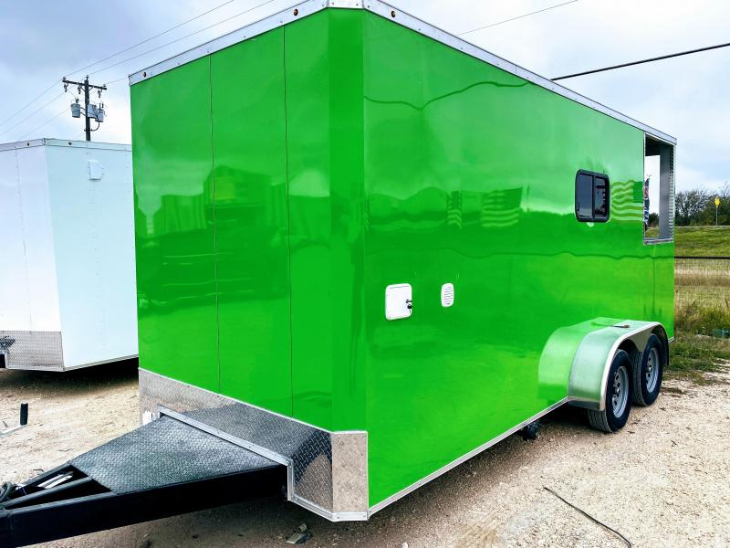 7X18TA Dog Grooming Trailer