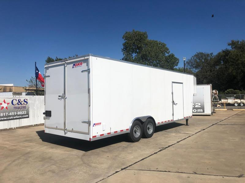 2021 Pace American 102 x 32 Enclosed Cargo Trailer