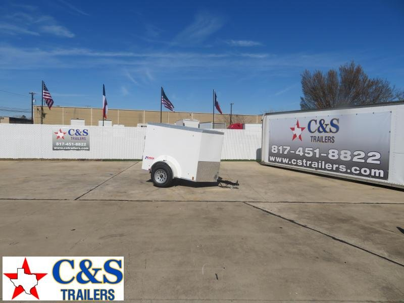 2020 Pace American 4 x 6 Enclosed Cargo Trailer