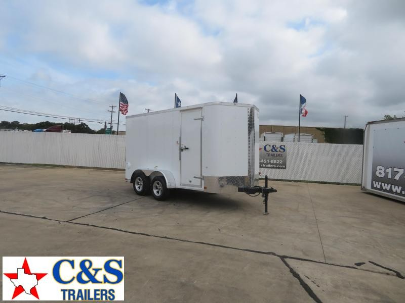 2020 Cargo Craft 6 X 12 Enclosed Cargo Trailer