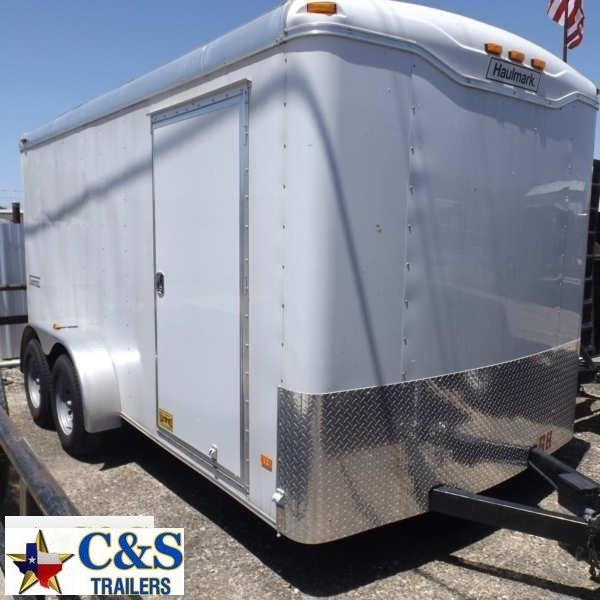 Rental 68 - 2015 Haulmark 14' T/A Cargo Enclosed Cargo Trailer