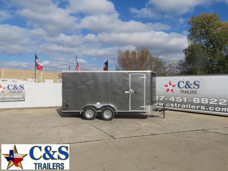 2021 Cargo Craft 7 X 16 Enclosed Cargo Trailer