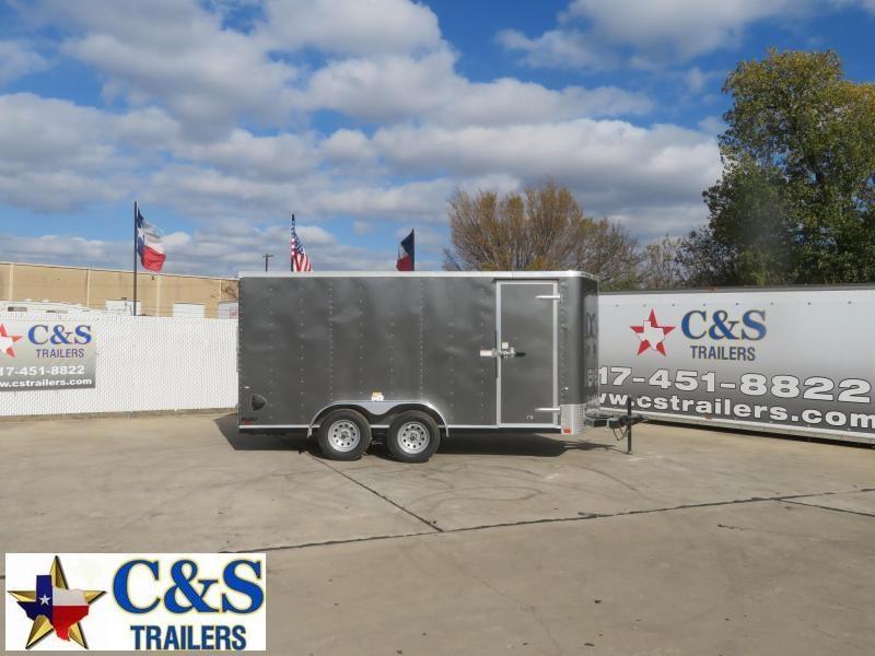 2021 Cargo Craft 7 X 16 Enclosed Cargo Trailer