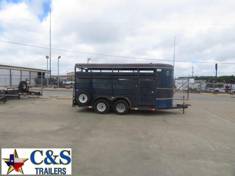 Rental 41 - Mustang 16' Stock Trailer