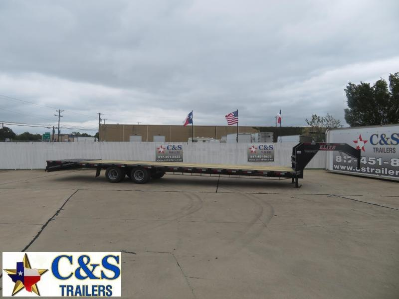 2021 Elite Trailers 102 x 36 Flatbed Trailer