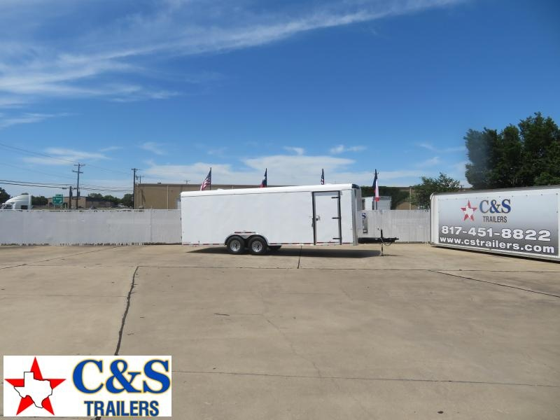 2020 Cargo Craft 8.5 x 24 Enclosed Cargo Trailer