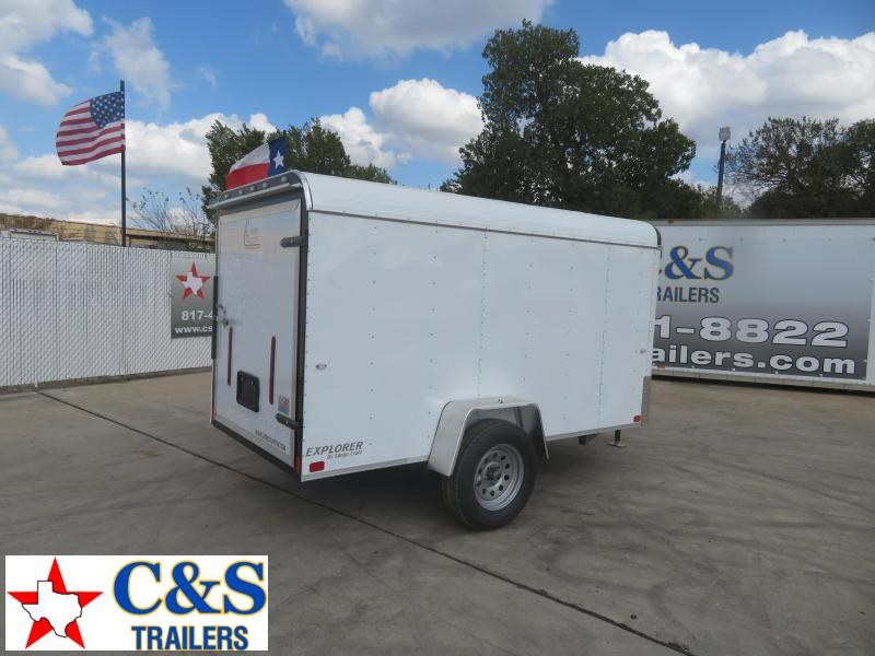2021 Cargo Craft 5 x 8 Enclosed Cargo Trailer
