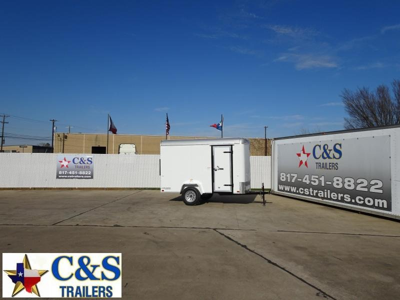 2021 Cargo Craft 5 x 10 Enclosed Cargo Trailer