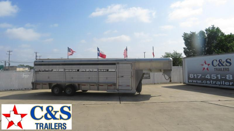 2003 Big Tex Trailers 83 x 24 Livestock Trailer