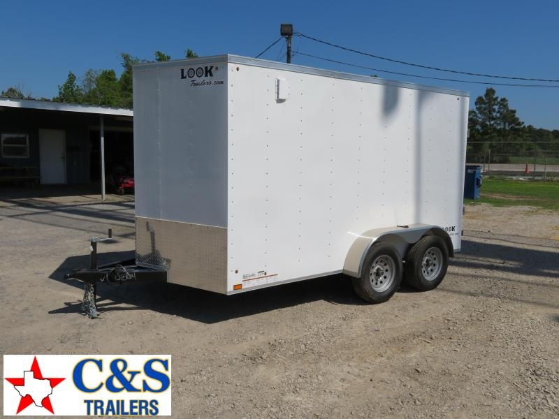 2020 Look Trailers 7 x 12 Enclosed Cargo Trailer