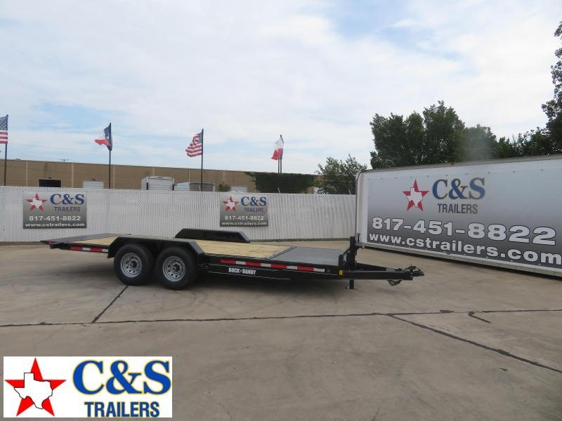 2020 Buck Dandy 83 x 20 Equipment Trailer