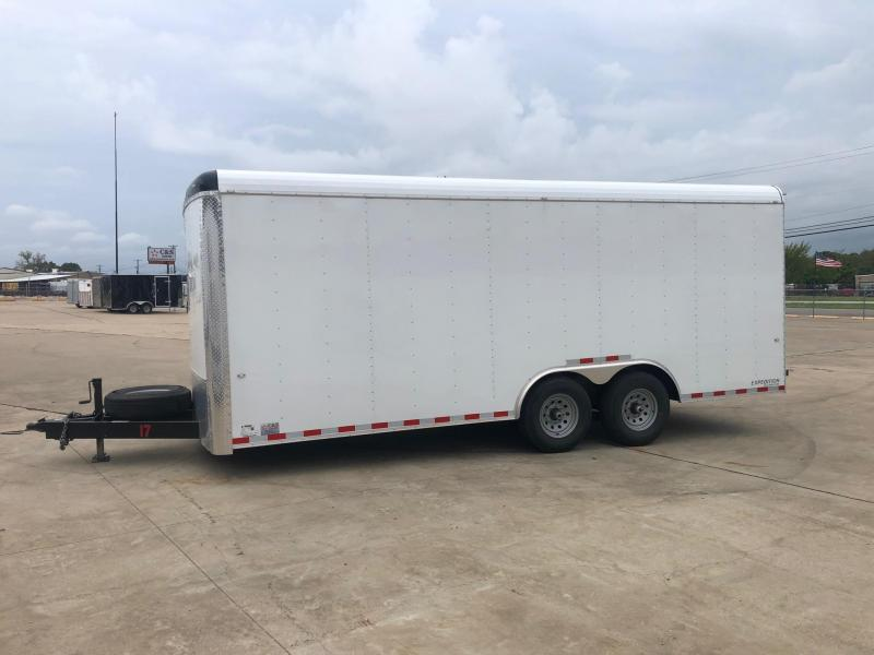 2020 Cargo Craft 8.5 X 20 Enclosed T/A Cargo Trailer