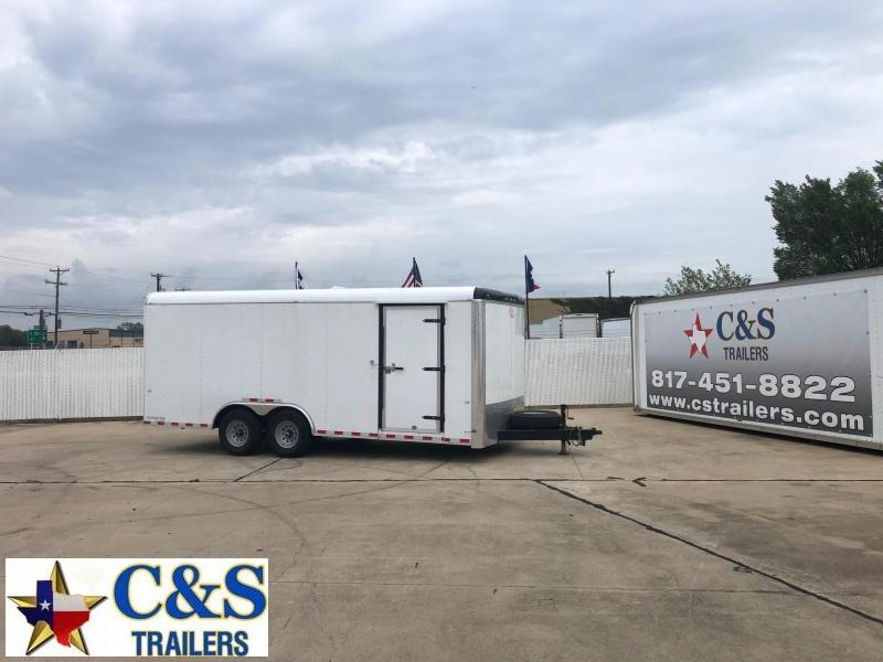 RENTAL 17 - 2020 Cargo Craft 8.5 X 20 Enclosed T/A Cargo Trailer