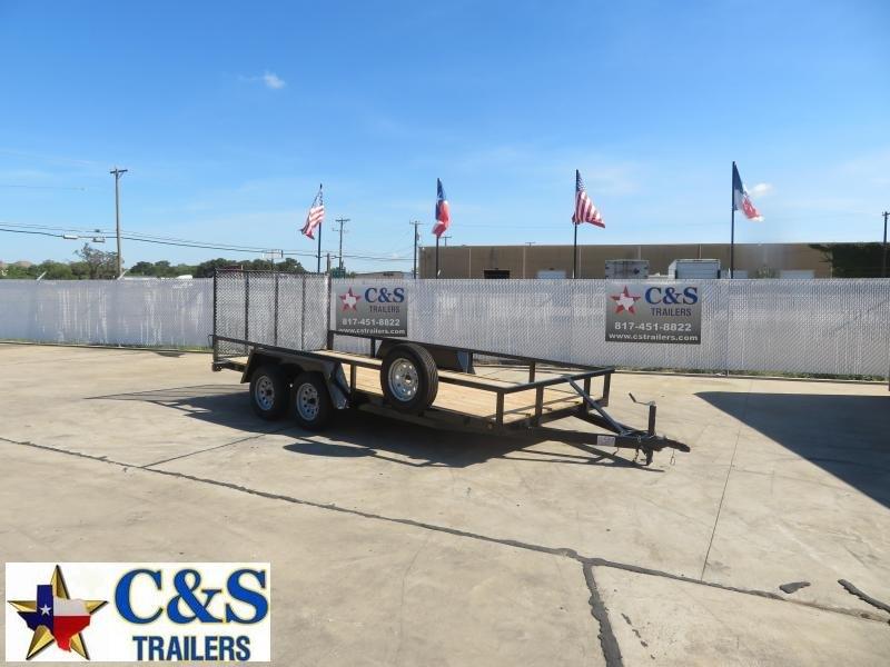 Rental 57 - C & S 16' TK Utility Trailer