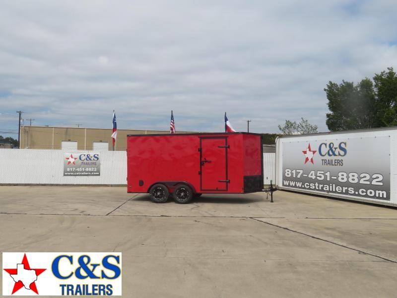 2021 Lark 7 X 14 Enclosed Cargo Trailer