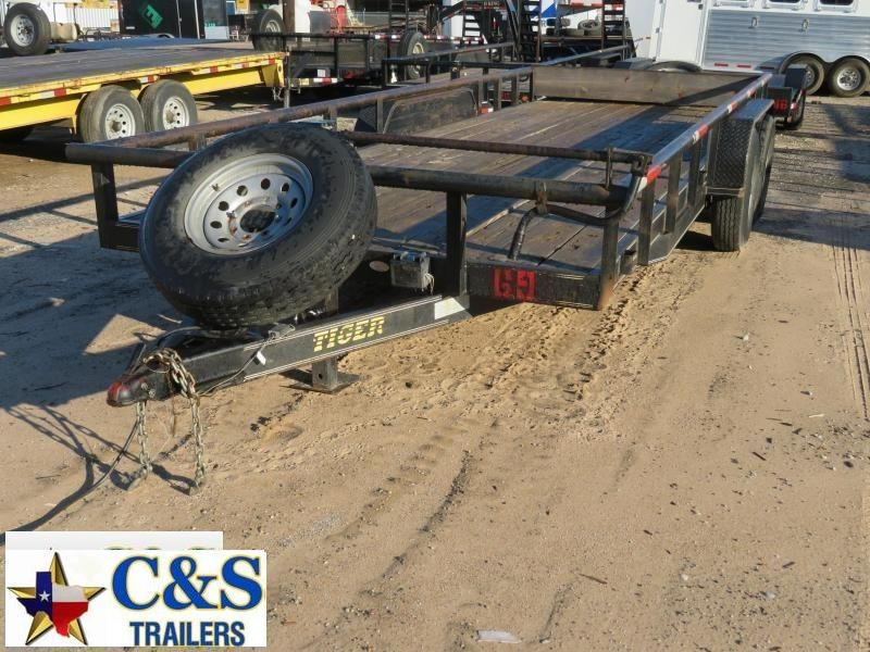 Rental 69 - 2012 Tiger 20 Utility Trailer