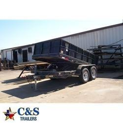 "Rental 23 - C&S 83"" x 12' Dump Trailer"
