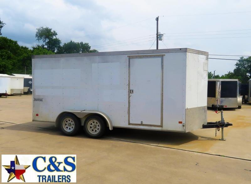 Rental 75 - Haulmark 7' x 16' Enclosed T/A Cargo Trailer