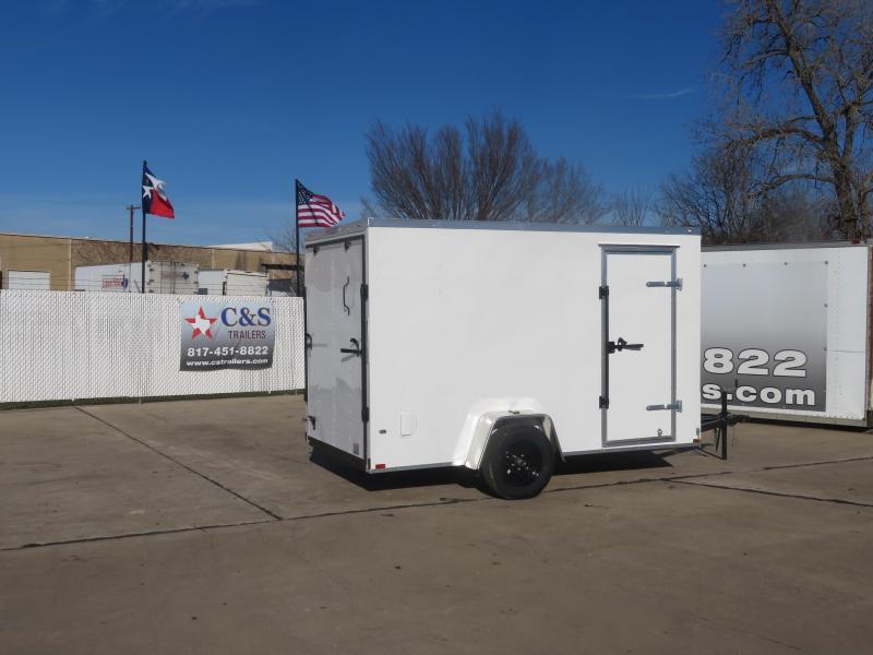 2021 Prime Trailer Manufacturing 6 x 12 Enclosed Cargo Trailer