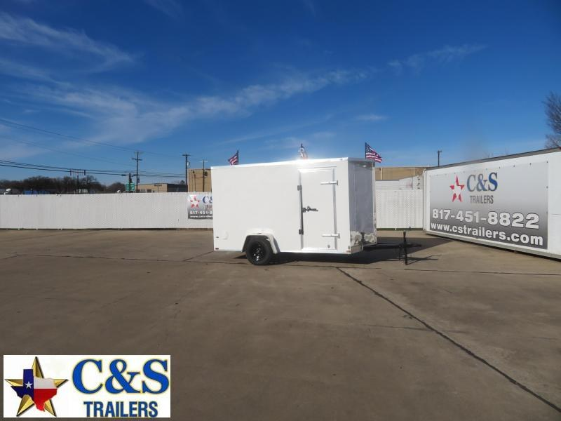 2021 Prime Trailer Manufacturing 6 x 12 Enclosed Cargo Trailer