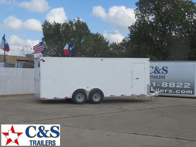 2020 Delco Trailers 8 x 20 Enclosed Cargo Trailer
