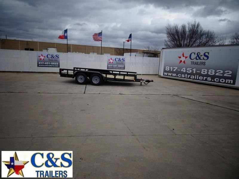 2021 Buck Dandy 77 X 14 Utility Trailer