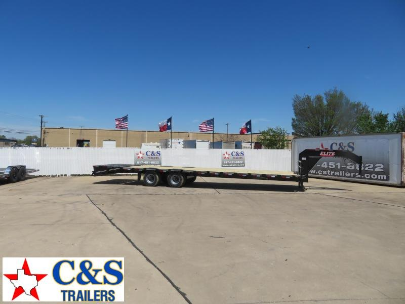 2020 Elite Trailers 102 x 36Flatbed Trailer