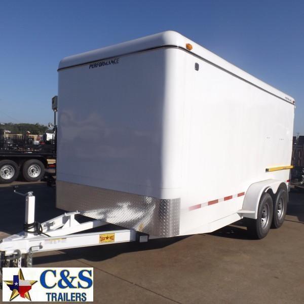 Rental 51 - Parker 7' x 16' Enclosed Cargo Trailer