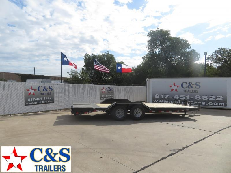 2021 Delco Trailers 102 x 22 Equipment Trailer