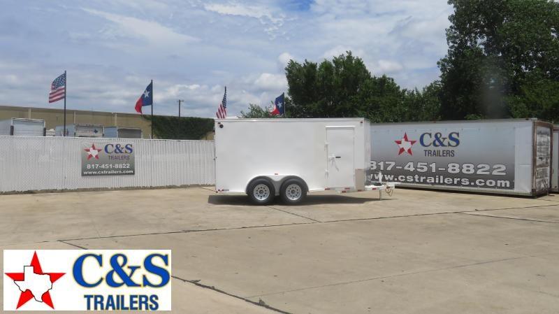 2020 Delco Trailers 80 x 14 Enclosed Cargo Trailer