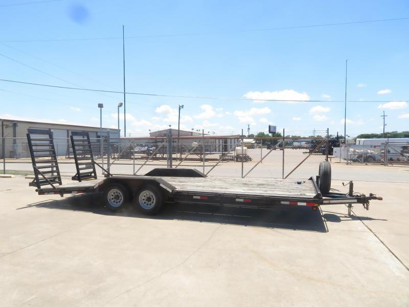 Rental 34 - Big Tex 16'+6' DOVE TAIL Car Hauler