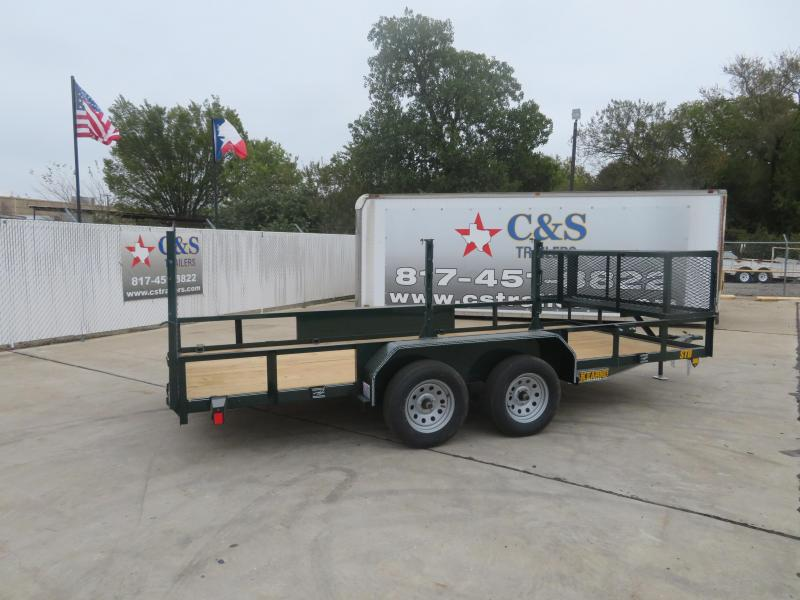 2020 Kearney 83 X 16 Utility Trailer