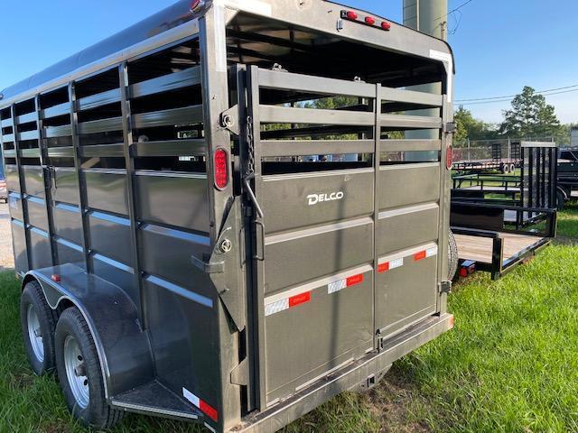 2020 Delco Trailers 80 x 16 Livestock Trailer