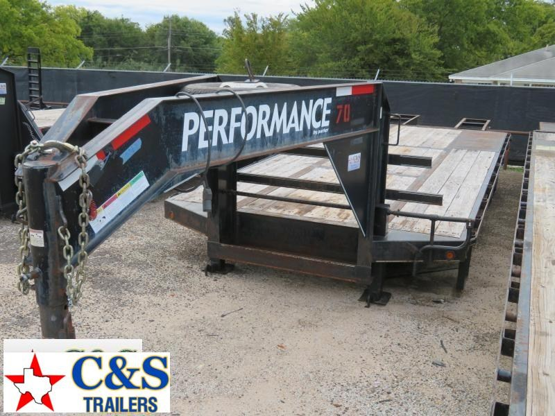 2007 Parker Trailers 20 5' Dual Tandem Axle Flatbed Trailer