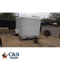 Rental 12 - Pace American 6' x 10' Enclosed S/A Cargo Trailer