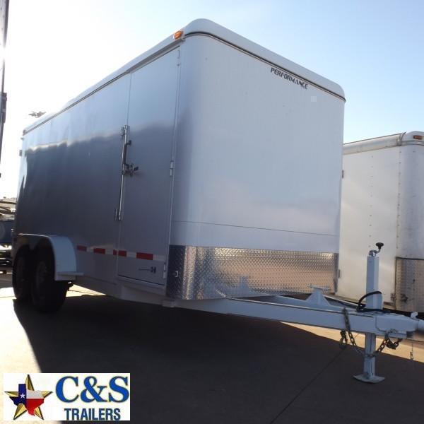 Rental 60 - Parker 7' x 16' Enclosed T/A Cargo Trailer