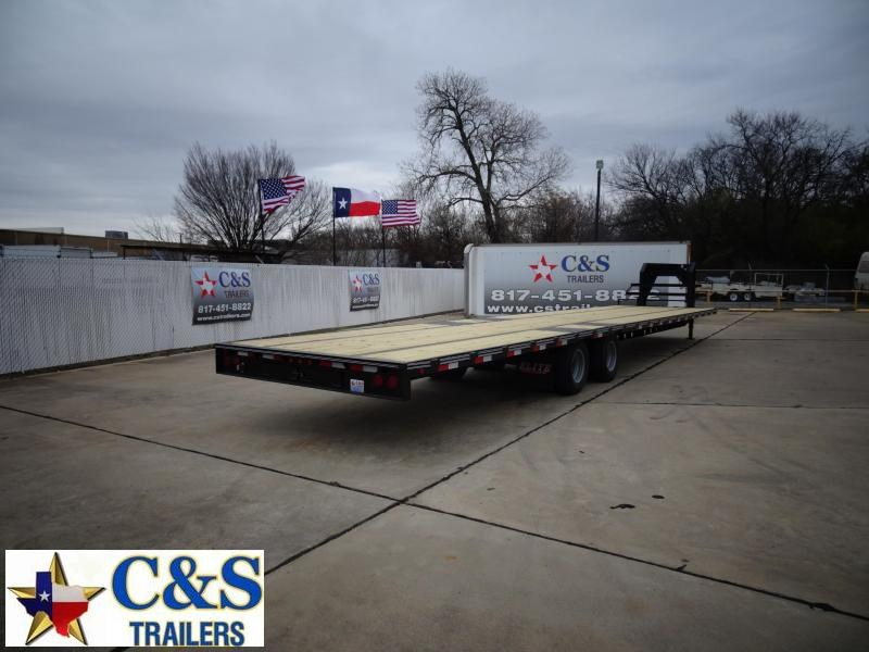 2021 Elite Trailers 102 x 40 Flatbed Trailer