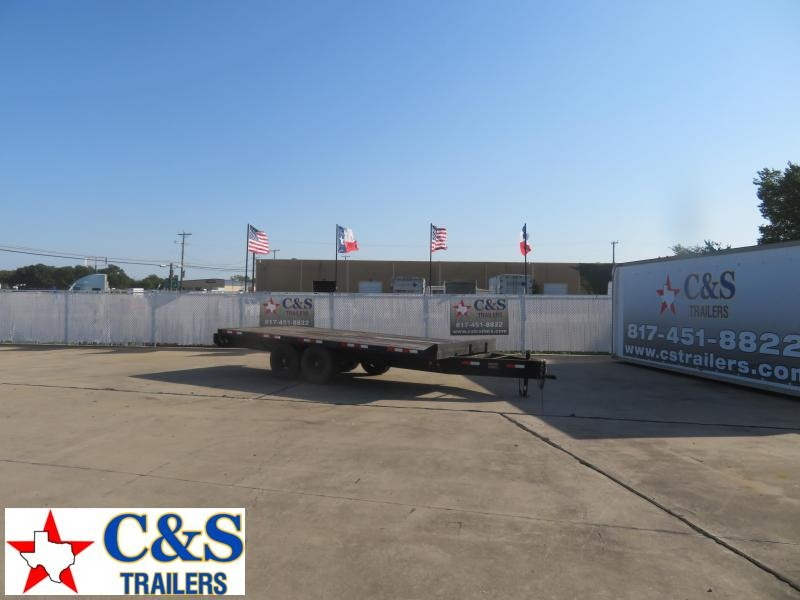 2010 Other 102 x 18 Flatbed Trailer