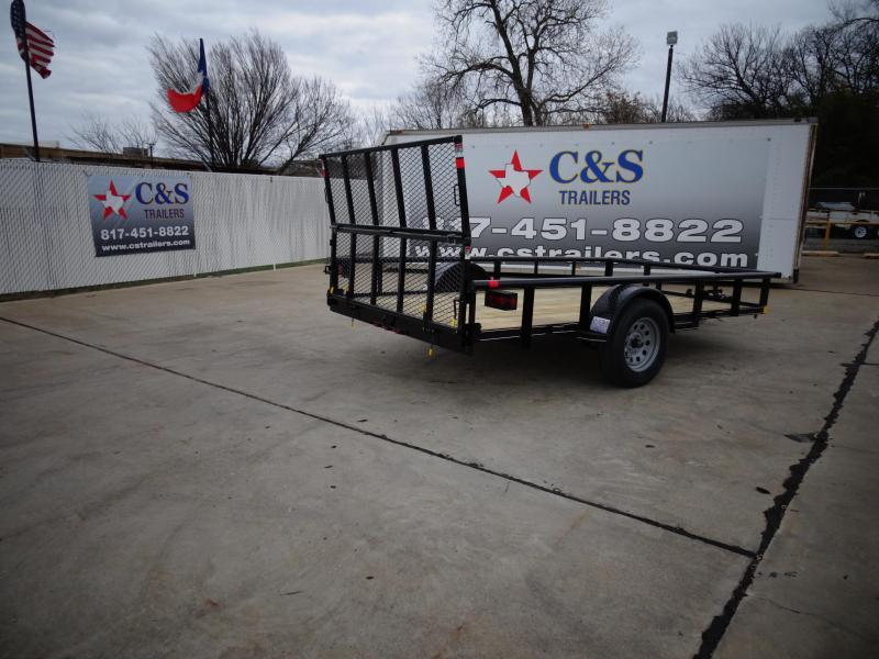 2021 Buck Dandy 77 X 12 Utility Trailer